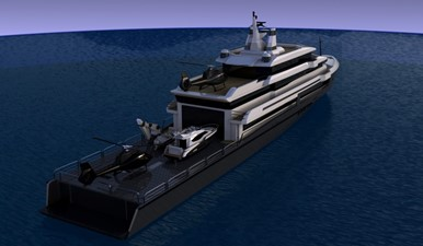 ACURY SYSV 79 1 ACURY Super Yacht Support Vessel 79m