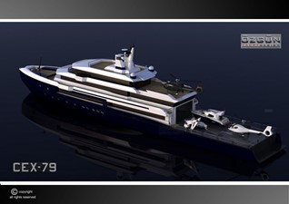 ACURY SYSV 79 6 ACURY Super Yacht Support Vessel 79m