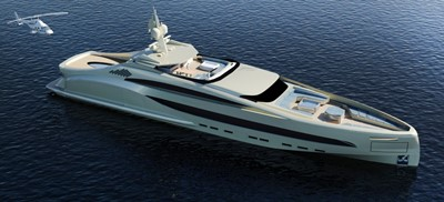 ACURY Mega Yacht Project SEA BULL 65m