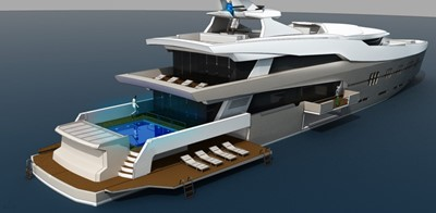 ACURY MY 55 0 ACURY Motoe Yacht Project 55m