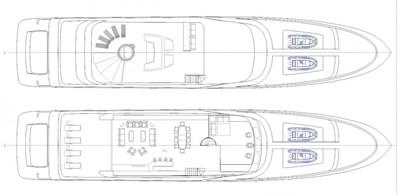 ACURY Motor Yacht 47m General Arrangement