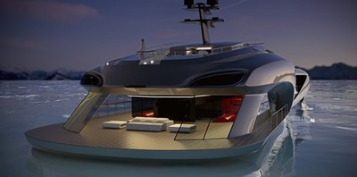 ACURY Event Yacht Project 70m