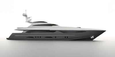 ACURY Motor Yacht 35m fly bridge option