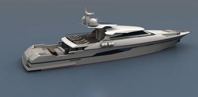 ACURY MY 33 0 ACURY 33m Motor Yacht Patrol style