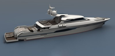 ACURY MY 33 2 ACURY 33m Motor Yacht Patrol style