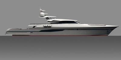 ACURY MY 33 3 ACURY 33m Motor Yacht Patrol style