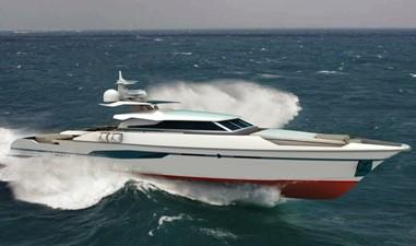 ACURY MY 33 4 ACURY 33m Motor Yacht Patrol style