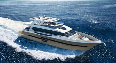 ACURY MY 30 6 ACURY Motor Yacht 30m rendering