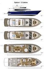 ACURY MY 30 32 ACURY Motor Yacht 30m Layout option 1