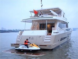 ACURY MY 30 33 ACURY Motor Yacht 30m Layout option with aft lift