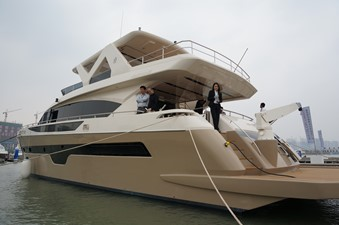 ACURY MY 25 2 ACURY Motor Yacht 25m fly bridge