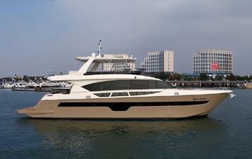 ACURY MY 25 0 ACURY Motor Yacht 25m fly bridge