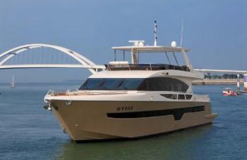 ACURY MY 25 5 ACURY Motor Yacht 25m fly bridge