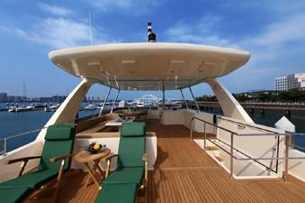 ACURY MY 25 25 ACURY Motor Yacht 25m fly bridge exterior