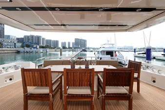 ACURY MY 25 26 ACURY Motor Yacht 25m fly bridge exterior