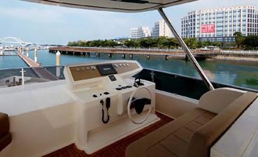 ACURY MY 25 28 ACURY Motor Yacht 25m fly bridge exterior