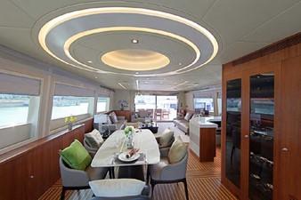 ACURY MY 25 10 ACURY Motor Yacht 25m fly bridge interior