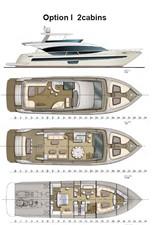 ACURY MY 25 29 ACURY Motor Yacht 25m fly bridge layout
