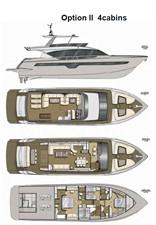 ACURY MY 25 30 ACURY Motor Yacht 25m fly bridge layout