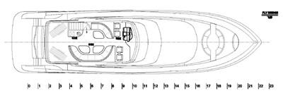 ACURY Motor Yacht fly bridge 23m