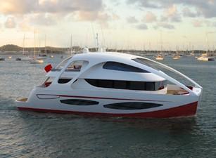 ACURY CAT 22 V1 0 Catamaran fly bridge motor yacht 22m