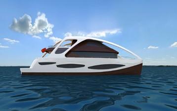 ACURY CAT 22 V1 2 Catamaran fly bridge motor yacht 22m