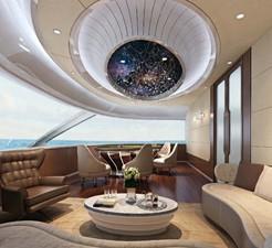 ACURY CAT 22 V1 6 Catamaran fly bridge motor yacht 22m interior