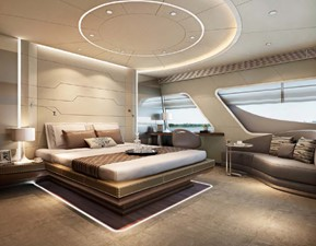 ACURY CAT 22 V1 9 Catamaran fly bridge motor yacht 22m interior