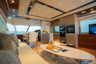 ACURY Motor Yacht fly bridge 21m interior