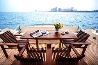 ACURY Motor Yacht fly bridge 21m exterior