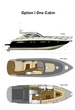 ACURY MY 14 13 ACURY Express cruiser 14m interior layout