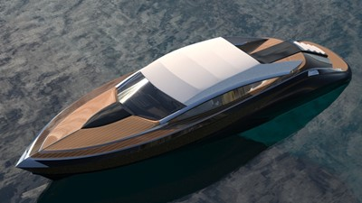 Ultimate Mega Yacht Tender 12m As Classic Italian wooden style