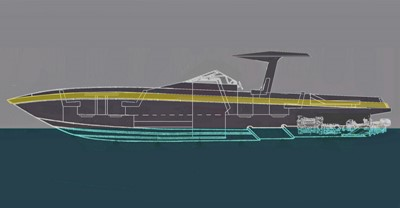ACURY Mega Yacht Tender 13m
