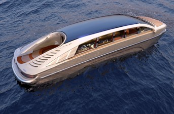 ACURY MYT 10 14 ACURY Mega Yacht Tender 10m Street and water