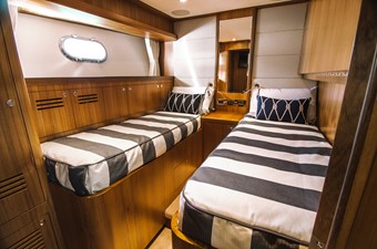 Port side midship cabin