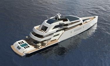 ACURY MYE 75 1 ACURY Mega Yacht Explorer Project 75m beach platform