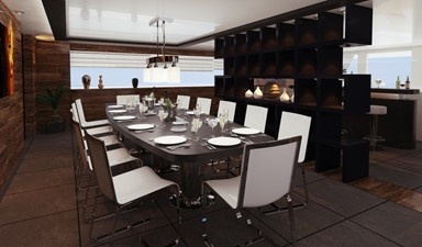 ACURY Mega Yacht Explorer Project 75m interior option