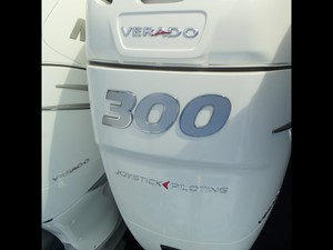 White 300 HP Verados