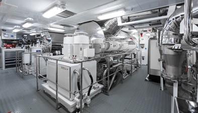 OKTO 21 Engine Room