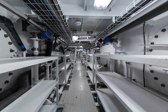 OKTO 23 Under Deck Crew Passageway