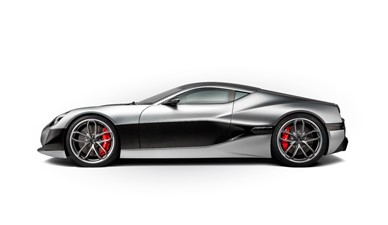 ACURY MYT 12 Hybrid and Electric 15 RIMAC Electric Super Car exterior Power output: 1088 hp