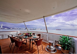 Aft deck to SB