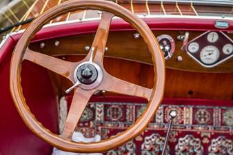 Original handcrafted solid wood wheel