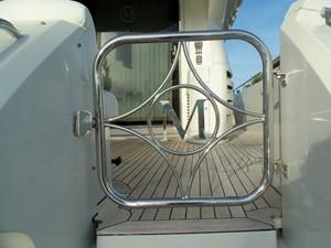 Hinged Boarding Gate