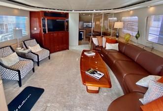 SEAQUEST 2 SEAQUEST 1996 HATTERAS Convertible SF w/ Skylounge Sport Fisherman Yacht MLS #232819 2