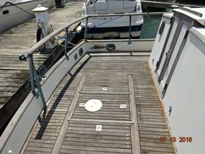 36' Grand Banks aftdeck port