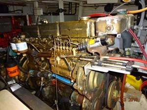 36' Grand Banks main engine photo1