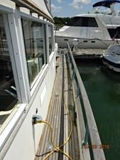 36' Grand Banks port side deck photo1