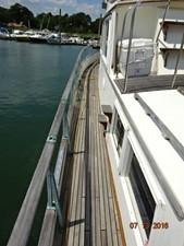 36' Grand Banks port side deck photo2