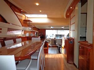 FERRETTI 760 4 FERRETTI 760 2002 FERRETTI YACHTS  Motor Yacht Yacht MLS #234378 4